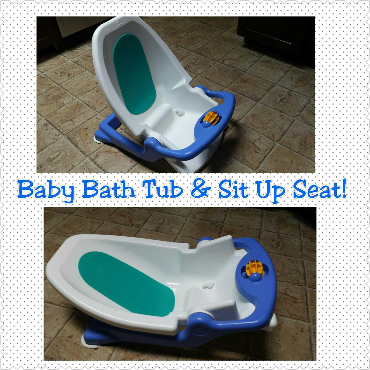 Find more Baby Bath Tub And Sit Up Seat! for sale at up to 90% off