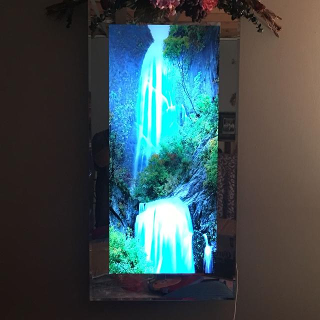 Best Moving Waterfall Frame With Light for sale in Airdrie, Alberta ...