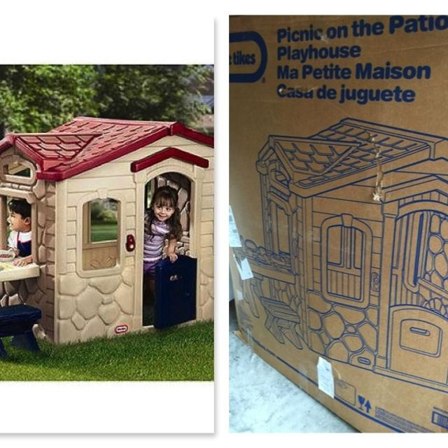 little tikes picnic on the patio playhouse reduced - Little Tikes Picnic On The Patio Playhouse