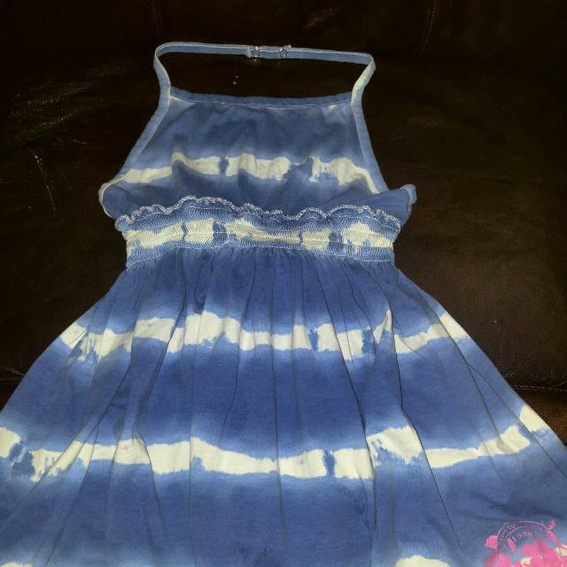af59f63dfa Find more Blue white Tie Dyed Tank By Chaps Girls Size Xl (16) for ...