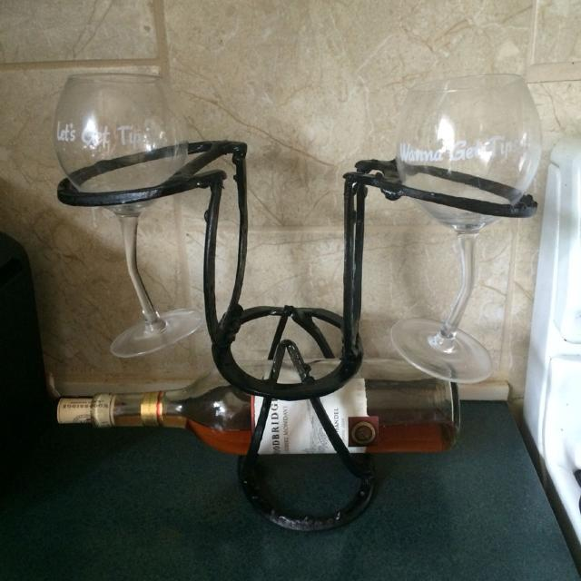 Best Wine Rack Made From Horseshoes For Sale In Oshawa Ontario For 2019