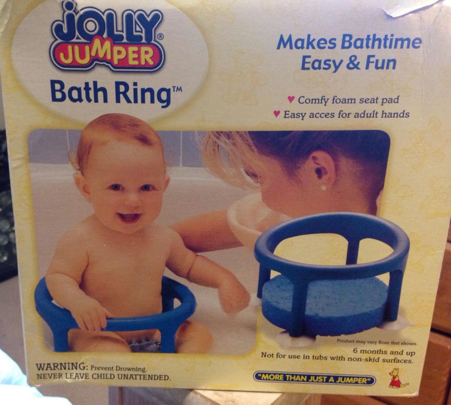 Find more Jolly Jumper Bath Ring. Never Used $15 for sale at up to ...