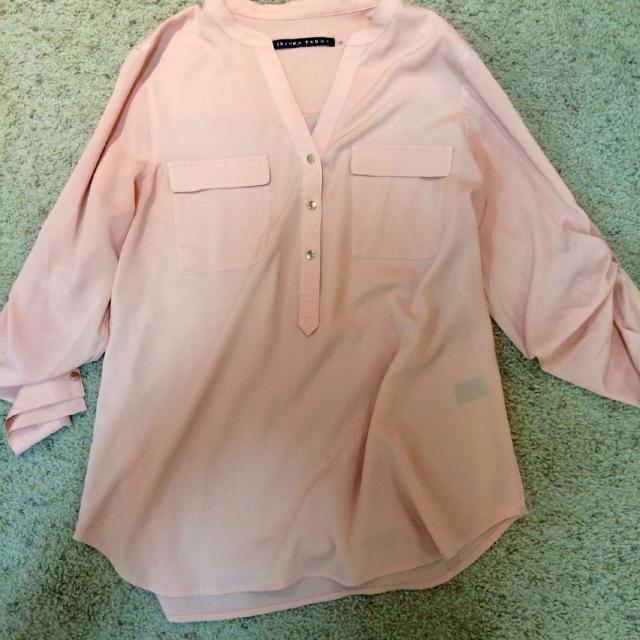 d8ec1e7be824bf Best Ivanka Trump Pale Peachy/pink Blouse With Gold Buttons $20 for sale in  Calgary, Alberta for 2019