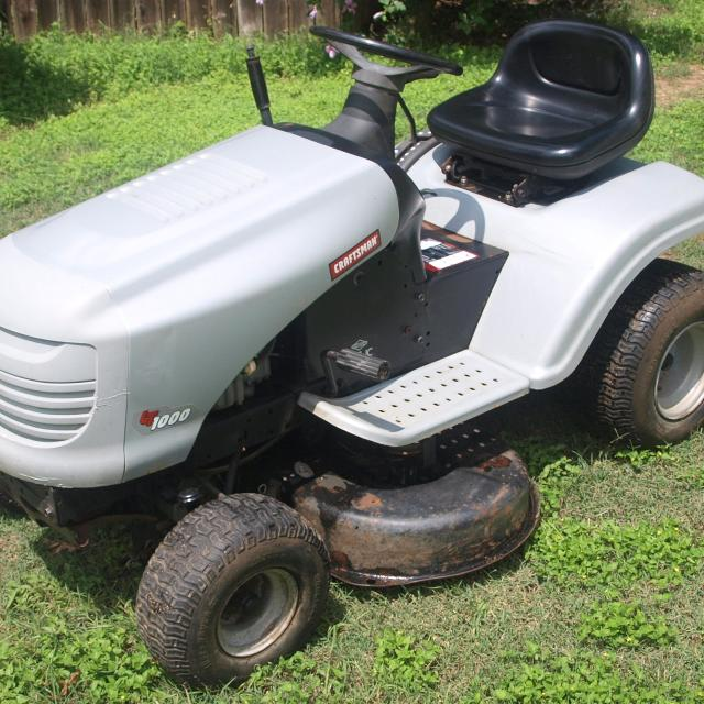 Favorite This Post 2007 Craftsman Lt1000 15 5 Hp Briggs 38 Cut Lawn Tractor Riding Mower