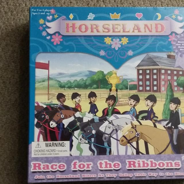Horseland Race for the Ribbons game