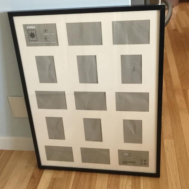Find more Very Large Ikea Frame-15 Picture Spaces In This Matting ...