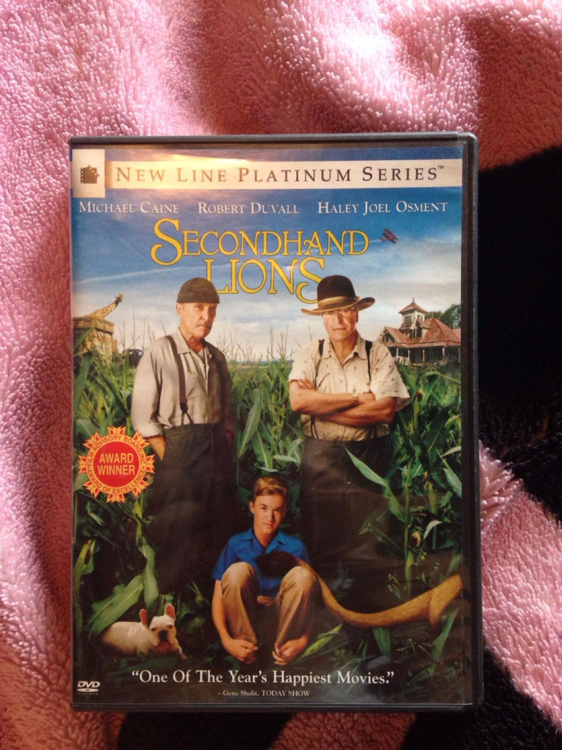 DVD secondhand lions