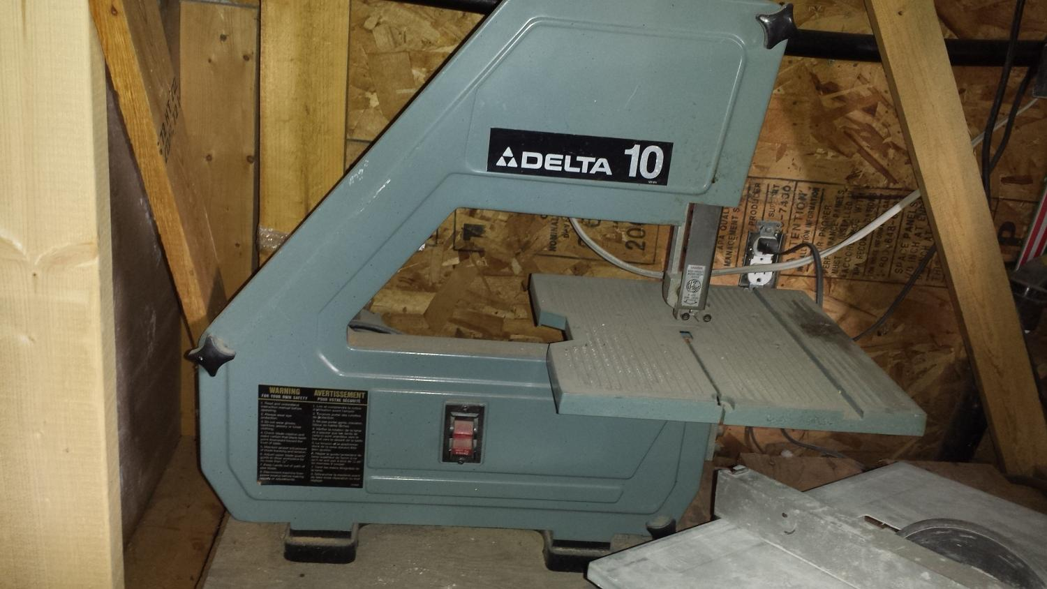 Delta 28 160 10 Tabletop Band Saw