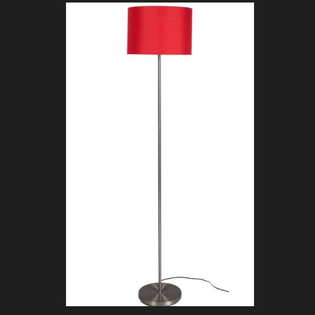 Find more red floor lamp vgc for sale at up to 90 off red floor lamp vgc aloadofball Choice Image