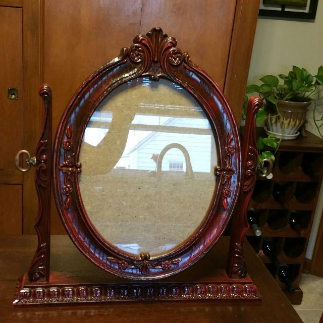 Find More Relist Beautiful Antique Oval Cherry Or Mahogany Carved