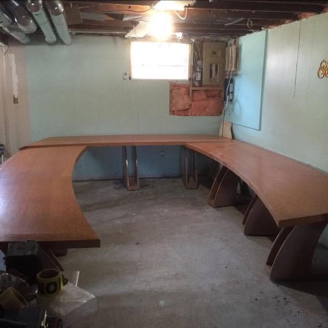 Best Beautiful Solid Oak Boardroom Table For Sale - Boardroom table for sale