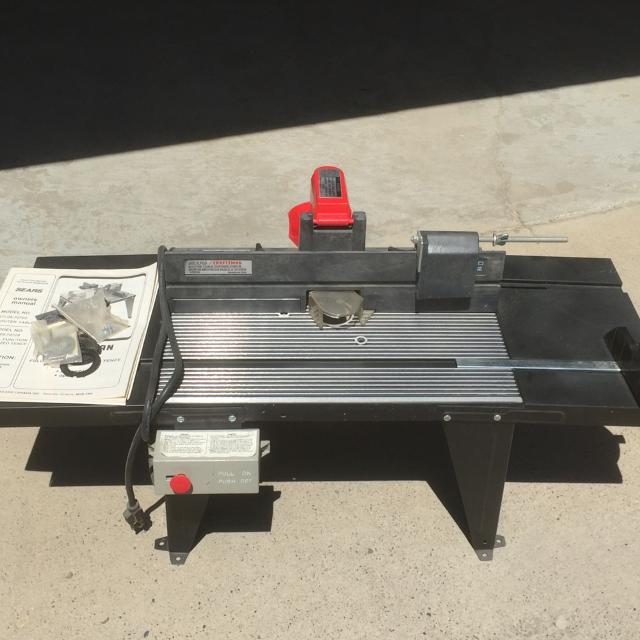 Sears craftsman router table best router 2017 craftsman router and table bo greentooth Gallery