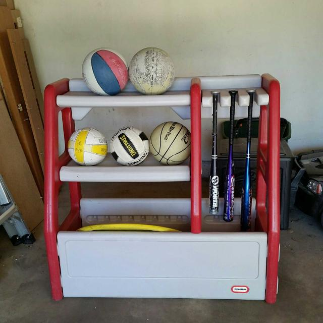Little Tikes Sports Equipment Organizer