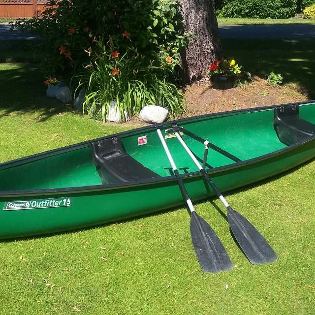 Find more Coleman Outfitter 3 Person 15 Foot Canoe for sale at up