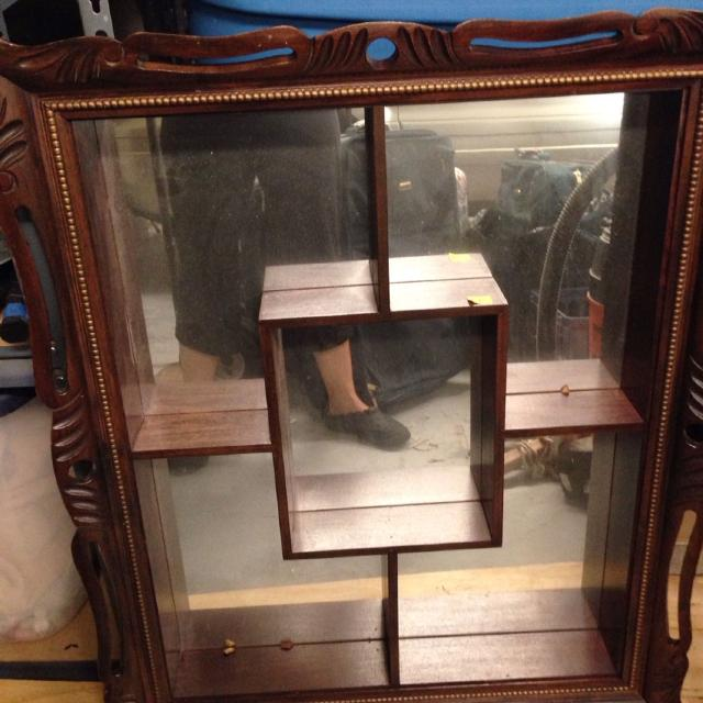 Best Antique Mirrored Shelf Good For What Nots 30 In Pensacola Florida 2019