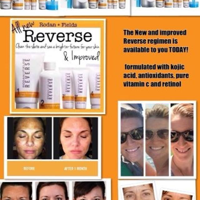 New Reverse Regimen from Rodan and Fields Formulated with kojic acid,  antioxidants, pure vitamin c and retinol