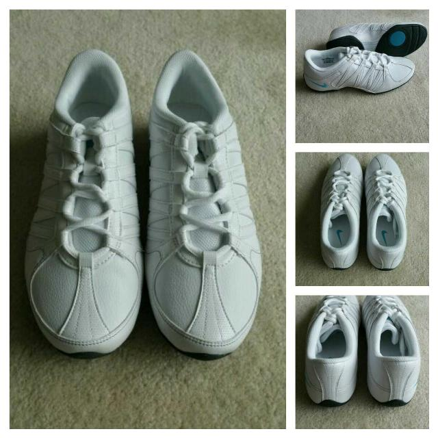 12988b6f65a645 Best Nike Women s Musique Iv Athletic White Dance Workout Shoes - Size 7.5  for sale in Scarborough