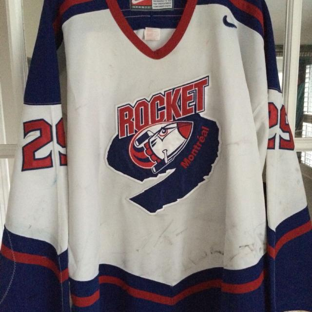 c487ba14b3c Best Montreal Rocket Game Worn Hockey Jersey for sale in Vaudreuil, Quebec  for 2019