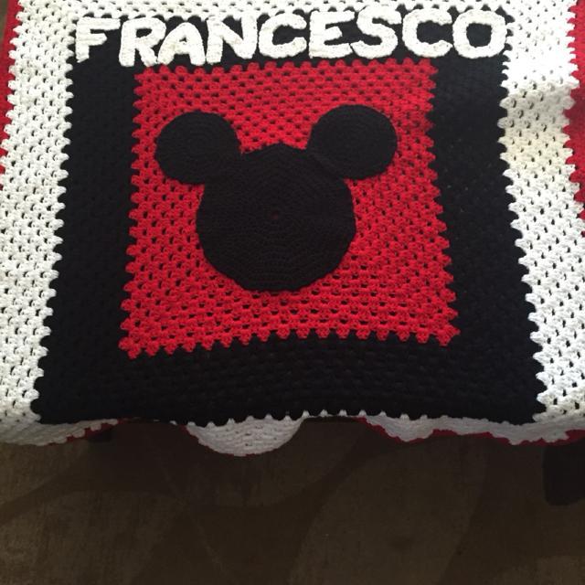 Best Custom Crochet Mickey Mouse Blanket For Sale In Etobicoke