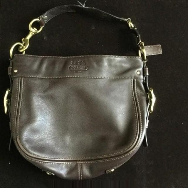 Authentic Coach Purse Made Out Of Cow Hide Leather F0093 F12671