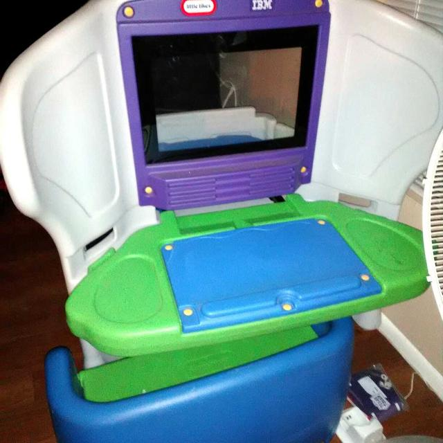 Find more Young Explorer Little Tikes Computer Desk And Bench for ...