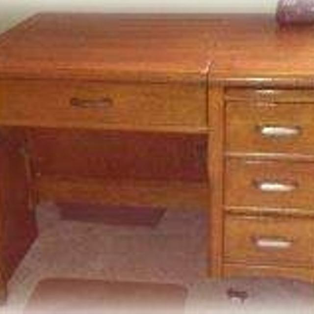 Antique Oak Desk - Best Antique Oak Desk For Sale In Orangeville, Ontario For 2017