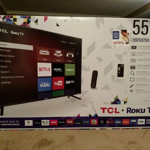 TCL Roku TV 55
