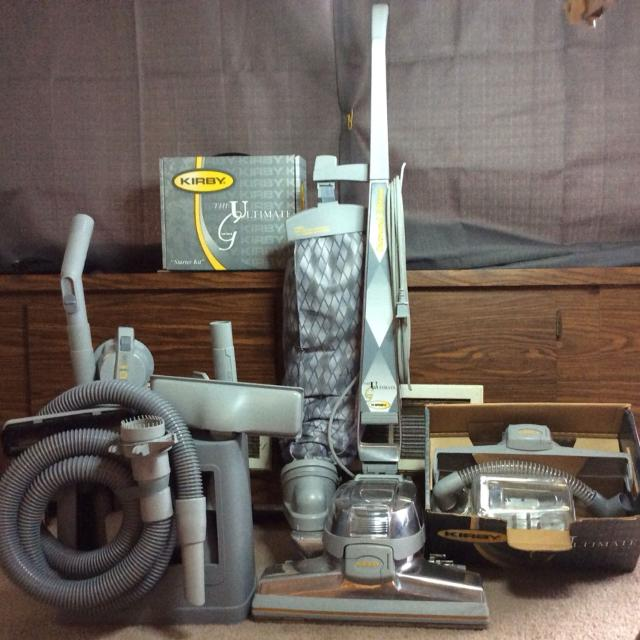 Reconditioned kirby ultimate g diamond edition vacuum loaded with.