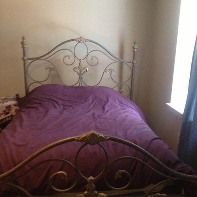 Best Fleur De Lis Queen Sized Bed Frame For Sale In Baton Rouge