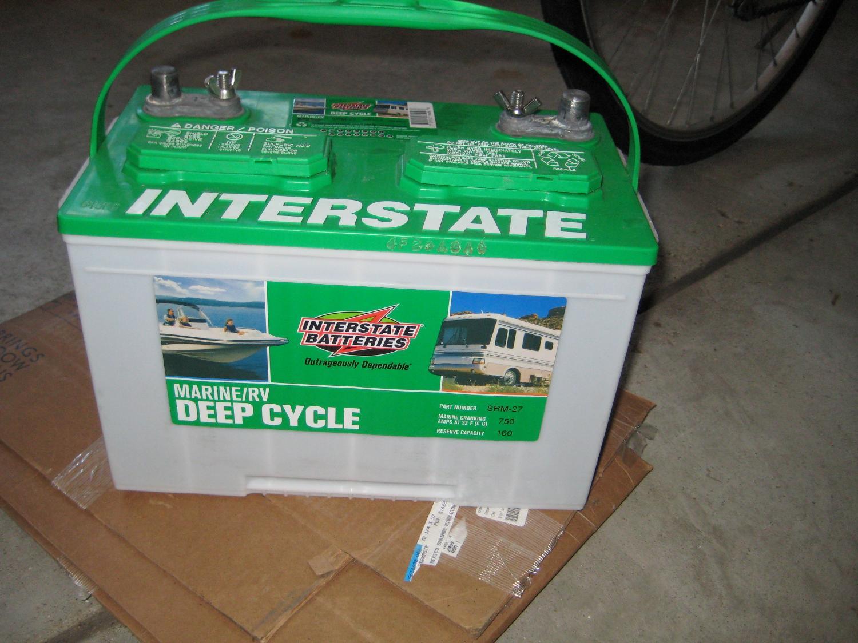 Interstate Deep Cycle Marine Battery >> Interstate Deep Cycle Marine Rv Battery