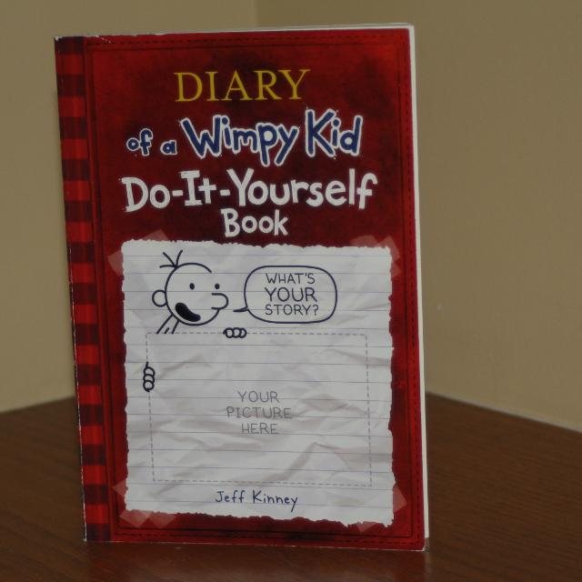 Find more diary of a wimpy kid do it yourself book paperback for diary of a wimpy kid do it yourself book paperback solutioingenieria Images
