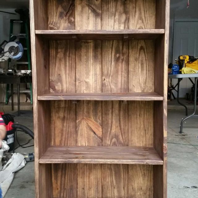 Best 4 Foot Tall Book Shelf. Hand Made for sale in Columbus