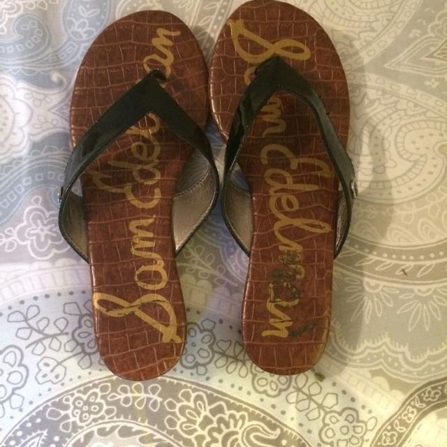 d0794de43832 Best Sam Edelman Romy Wedge Thong Sandals Size 6 for sale in Germantown
