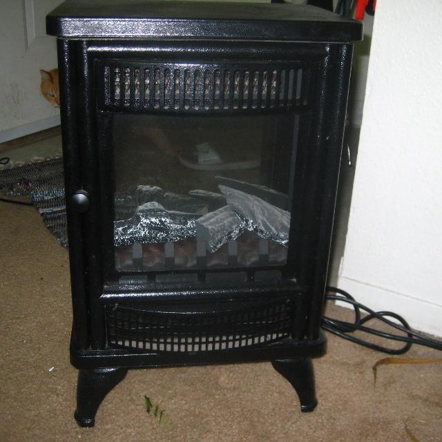 Best Decorative Space Heater Faux Fire For Sale In Portland Oregon