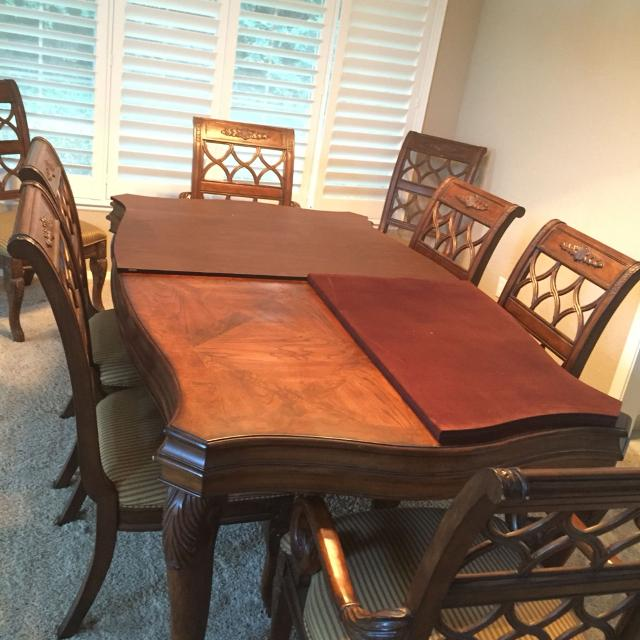 Best Drexel Heritage Talavera Dining For 8. for sale in Brentwood ...