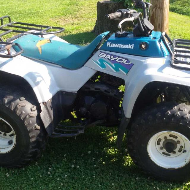 Find more 1994 Kawasaki Bayou 220 for sale at up to 90% off