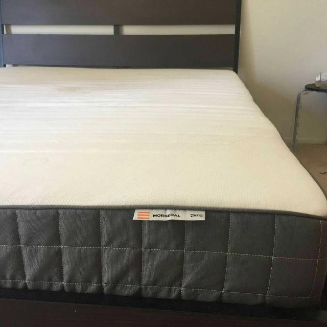 best queen mattress from ikea(morgedal) for sale in covina