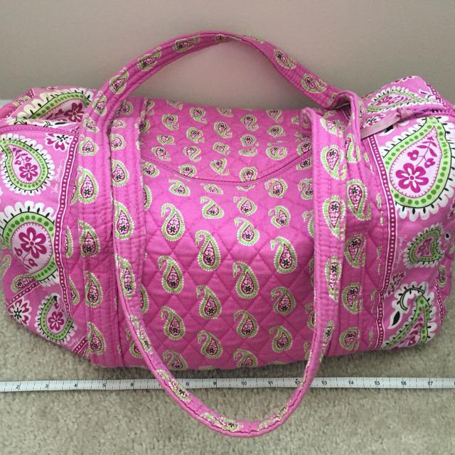 Best Vera Bradley Small Duffle Bag In Bermuda Pink for sale in Ashburn 74ece8fc89721