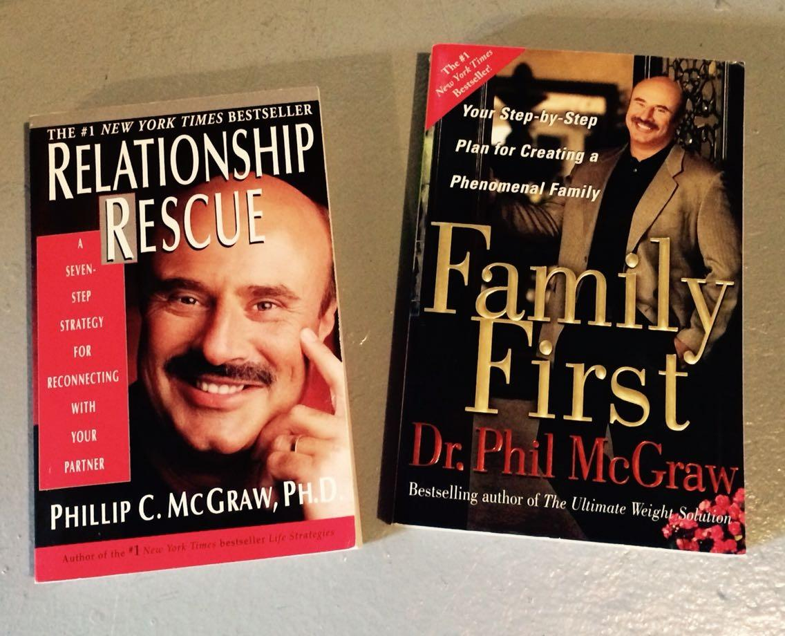Dr Phil soft cover books