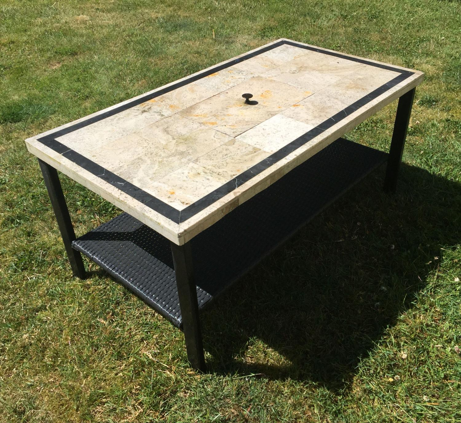 Find More Outdoor Patio Coffee Table With Option For 2