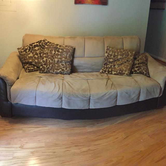 Ashley Roxanne Flip Flop Sofa Futon