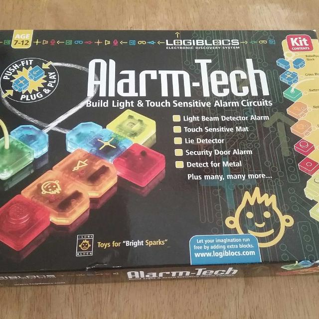 Logiblocs alarm tech circuit builder  suitable for ages 7-12  Brand new and  unopened !