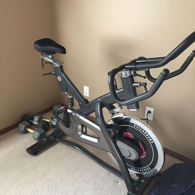 find more energetics spin bike for sale at up to 90 off calgary ab. Black Bedroom Furniture Sets. Home Design Ideas