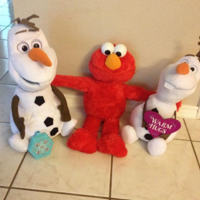 Find More Ultimate Olaf With Remote Control Big Hugs Elmo And Olaf