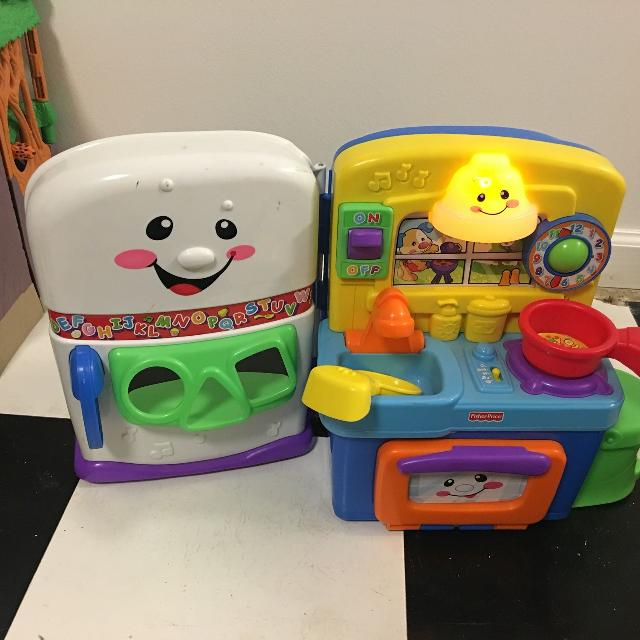 Fisher Price laugh and learning kitchen.