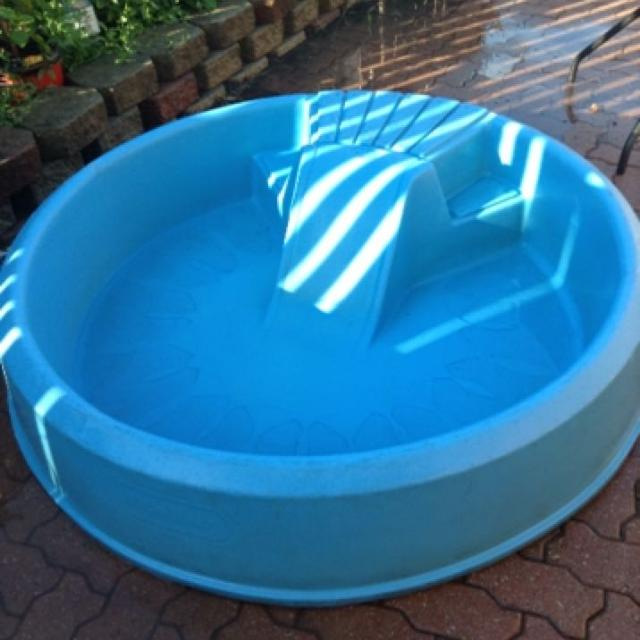 Find More Little Tikes Hard Plastic Pool With Little Slide And Step For Sale At Up To 90 Off