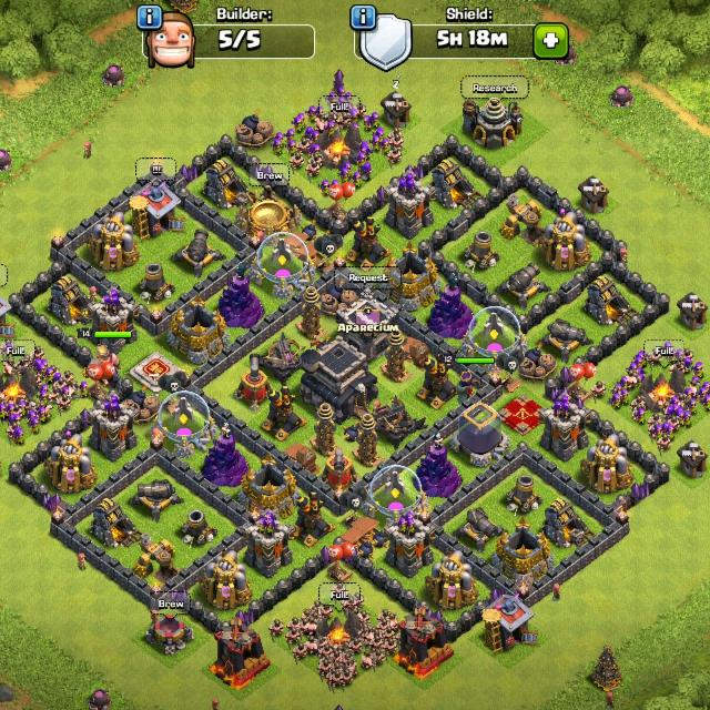 Best Clash Of Clans Maxed Town Hall 9 Base for sale in Victoria, British  Columbia for 2020