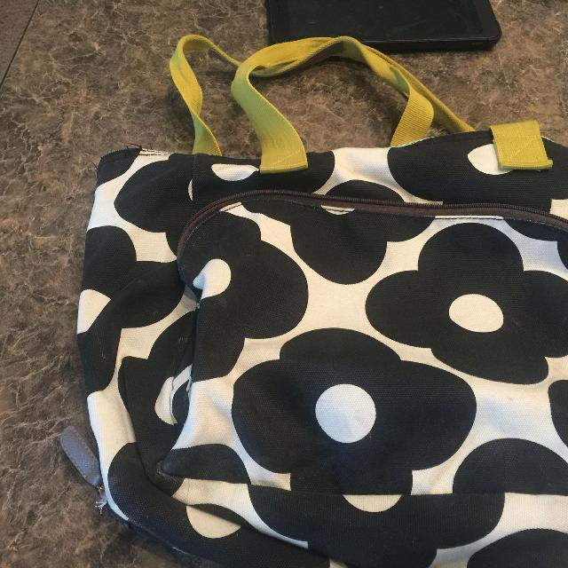 Orla Kiely Target Yoga Bag Used As Diaper
