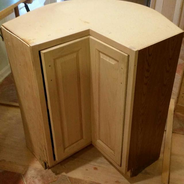 Lazy Susan Corner Kitchen Cabinet