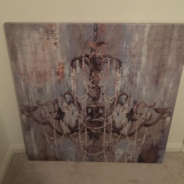 Find more Bouclair Chandelier Canvas for sale at up to 90% off ...